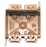 electrical wiring box - 2-gang cut-in box