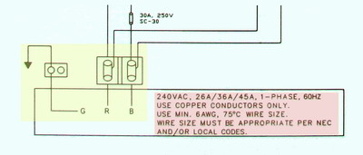 hot tub wiring connection diagram