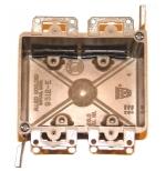 electrical wiring box - 2-gang cut-in box