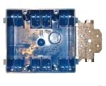 electrical wiring box - 2-gang facenail box