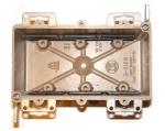 electrical wiring box - 3-gang cut-in box