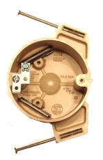 electrical wiring box - 3 inch fiberglass nail box