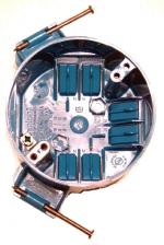electrical wiring box - 4-inch-plastic-nail-box
