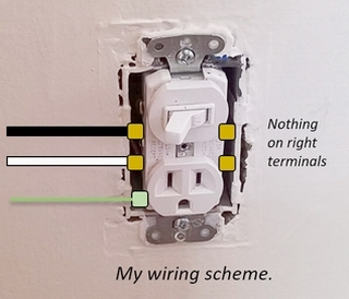 Install a Switched Outlet to Control a Lamp