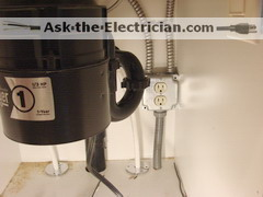 Garbage disposal wiring code wiring library how to wire a garbage disposal and a dishwasher outlet rh ask the electrician com garbage disposal diagram badger garbage disposal wiring diagram cheapraybanclubmaster Gallery
