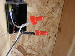 junction box splicing wires